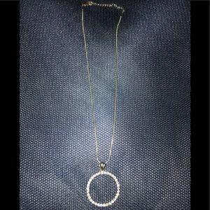 Austrian Crystal pendant on a Silver Chain.